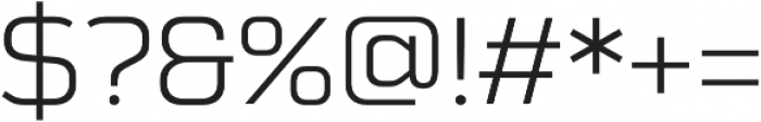 Schwager Sans otf (300) Font OTHER CHARS