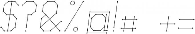 Science White Light Italic Light Italic otf (300) Font OTHER CHARS