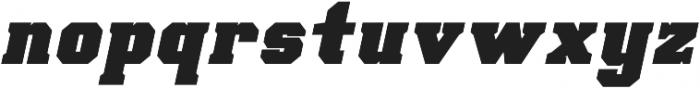 Scoreline Bold Italic otf (700) Font LOWERCASE
