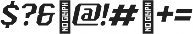 Scoreline Light Italic otf (300) Font OTHER CHARS