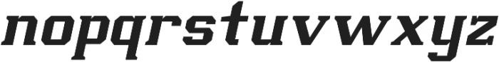Scoreline Light Italic otf (300) Font LOWERCASE