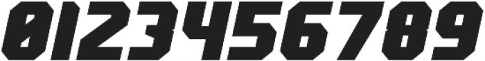 Scoreline Sans Bold Italic otf (700) Font OTHER CHARS
