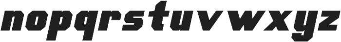 Scoreline Sans Bold Italic otf (700) Font LOWERCASE