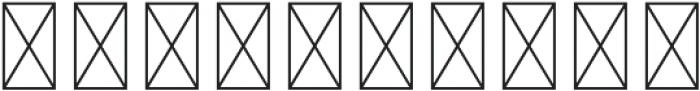 Scotland Regular otf (400) Font OTHER CHARS