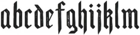 Scotland Regular otf (400) Font LOWERCASE