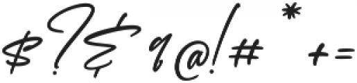 Scotland otf (400) Font OTHER CHARS