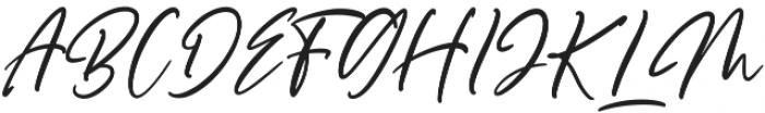 Scotland otf (400) Font UPPERCASE