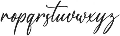 Scotland otf (400) Font LOWERCASE