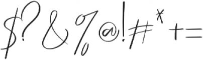 Scotlandis otf (400) Font OTHER CHARS