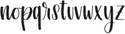 Scout Sans otf (400) Font LOWERCASE