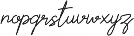 Scoutline otf (400) Font LOWERCASE