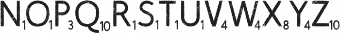 Scrabblish otf (400) Font UPPERCASE