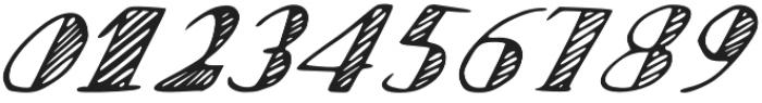 Scratch otf (400) Font OTHER CHARS