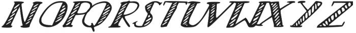 Scratch otf (400) Font UPPERCASE