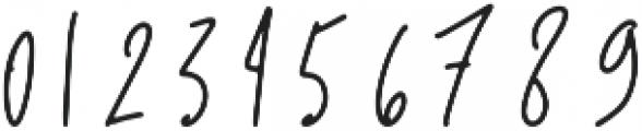 Scream Team otf (400) Font OTHER CHARS