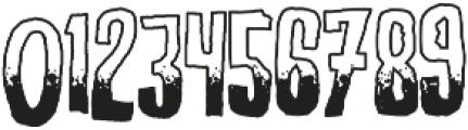Screature Layered Sundown otf (400) Font OTHER CHARS
