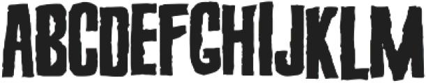 Screature Layered otf (400) Font UPPERCASE