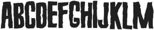 Screature Layered otf (400) Font LOWERCASE