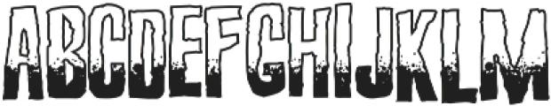Screature Sundowner otf (400) Font UPPERCASE