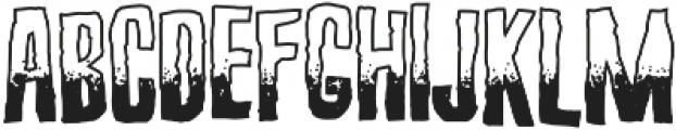 Screature Sundowner otf (400) Font LOWERCASE