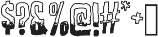 Screature Sundowner ttf (400) Font OTHER CHARS