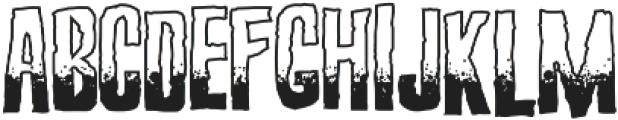Screature Sundowner ttf (400) Font UPPERCASE