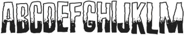 Screature Sundowner ttf (400) Font LOWERCASE