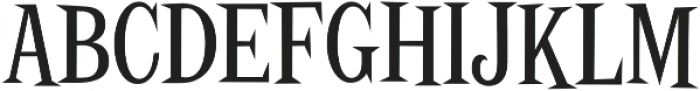 Screwby ExCond Regular otf (400) Font UPPERCASE