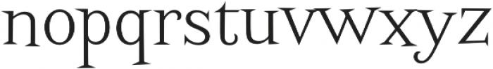 Screwby Light otf (300) Font LOWERCASE