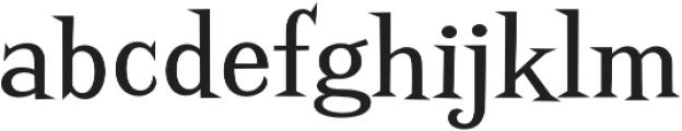 Screwby Regular otf (400) Font LOWERCASE