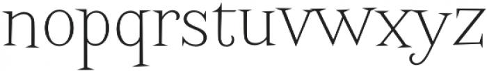 Screwby Thin otf (100) Font LOWERCASE