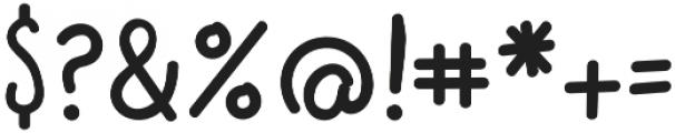 Scribblemonger Regular otf (400) Font OTHER CHARS