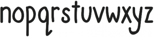 Scribblemonger Regular otf (400) Font LOWERCASE