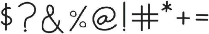 Script Bold otf (700) Font OTHER CHARS