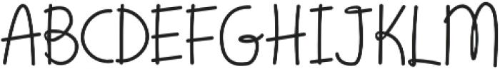 Script Bold otf (700) Font UPPERCASE