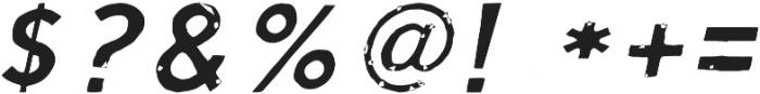 Script Calm Light Cursive otf (300) Font OTHER CHARS