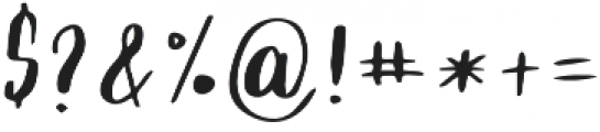 Script Cool otf (400) Font OTHER CHARS