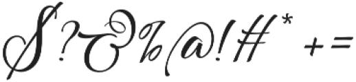 Scriptic Wilder otf (400) Font OTHER CHARS