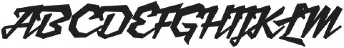 Scriptonite Regular ttf (400) Font UPPERCASE