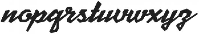 Scriptonite Regular ttf (400) Font LOWERCASE