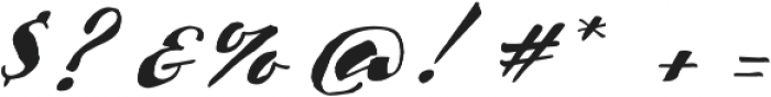 Scriptum Italic otf (400) Font OTHER CHARS