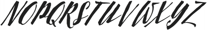 Scriptum Italic otf (400) Font UPPERCASE