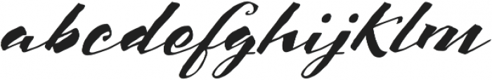 Scriptum Italic otf (400) Font LOWERCASE