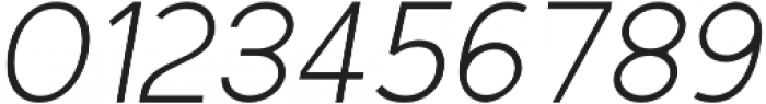 Scritto Sans Light Oblique otf (300) Font OTHER CHARS