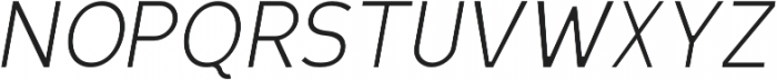 Scritto Sans Light Oblique otf (300) Font UPPERCASE