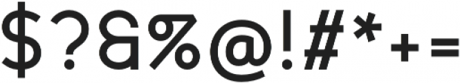 Scritto Sans Medium otf (500) Font OTHER CHARS