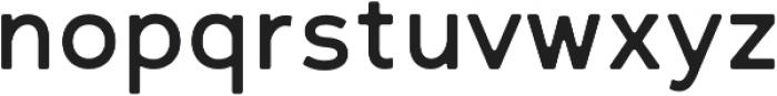 Scritto Sans Round Medium Round otf (500) Font LOWERCASE