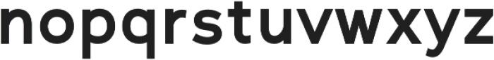 Scritto Sans otf (700) Font LOWERCASE