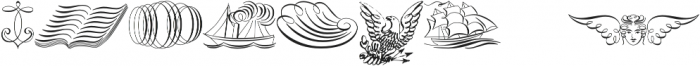 ScrollsA otf (400) Font OTHER CHARS