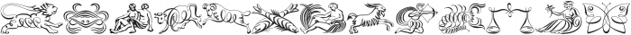 ScrollsA otf (400) Font UPPERCASE